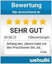 Bewertungen zu nlp-deutschland.de