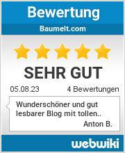 Bewertungen zu baumelt.com