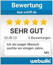 Bewertungen zu aaa-schiff.de