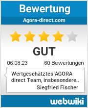 Bewertungen zu agora-direct.com