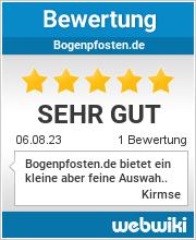 Bewertungen zu bogenpfosten.de