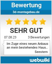 Bewertungen zu 3d-montagebau.de
