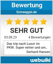 Bewertungen zu extraegypt.de