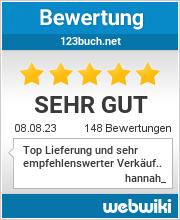Bewertungen zu 123buch.net