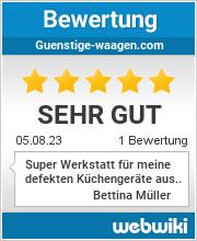 Bewertungen zu guenstige-waagen.com
