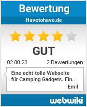 Bewertungen zu havetohave.de