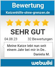 Bewertungen zu katzenhilfe-ohne-grenzen.de