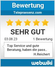 Bewertungen zu telepraesenz.com